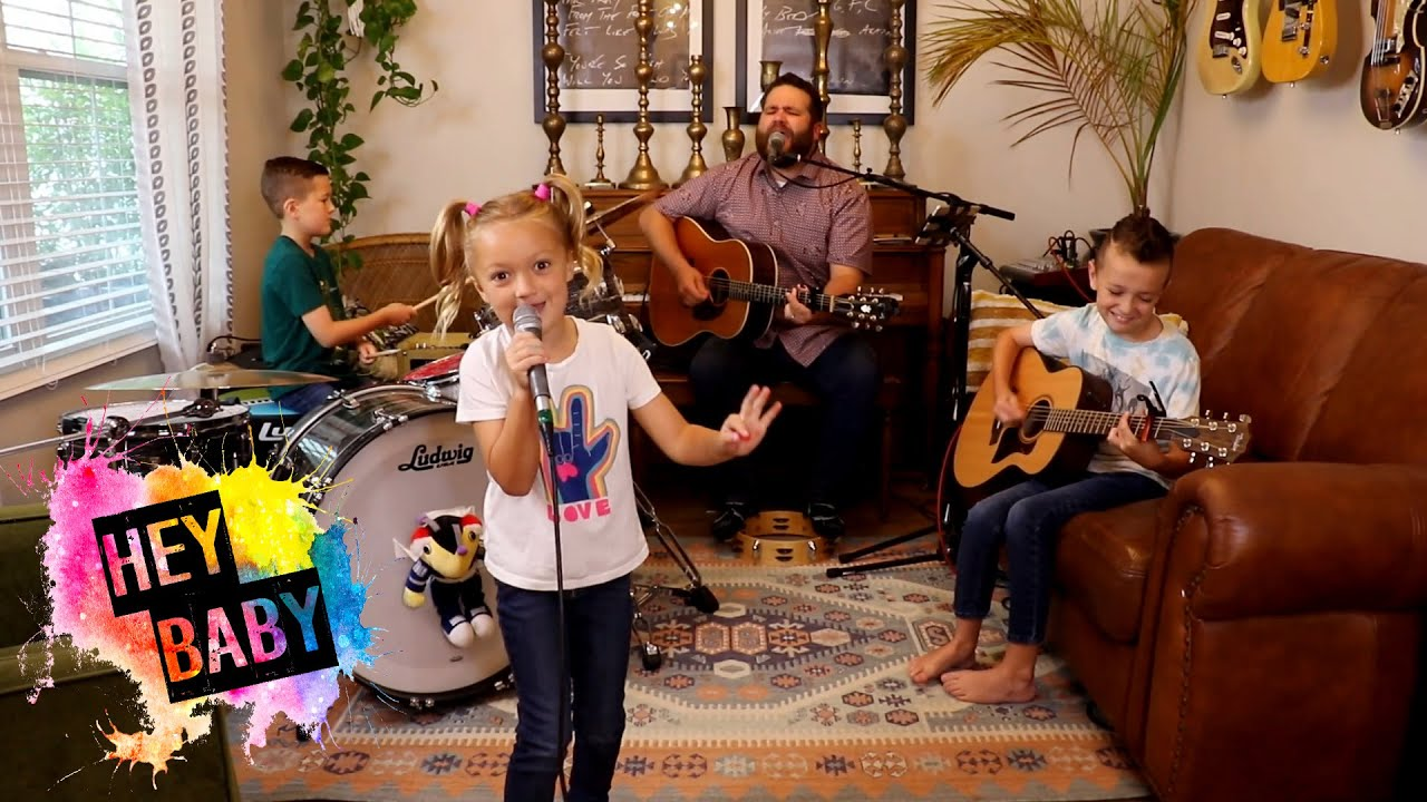 """Colt Clark and the Quarantine Kids play """"Hey! Baby"""""""