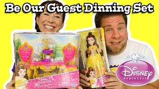 Disney Princess Belle's Be Our Guest Dinning Set