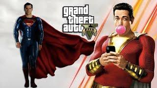 Скачать SHAZAM VS SUPERMAN GTA 5 PC MODS