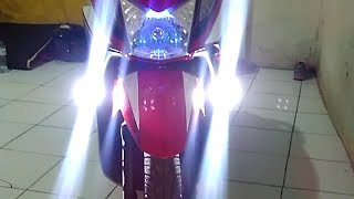 Video Cara Pasang 2 lampu Tembak Sederhana  | lampu LED CR7 | Riki Ps Motovlog download MP3, 3GP, MP4, WEBM, AVI, FLV November 2018