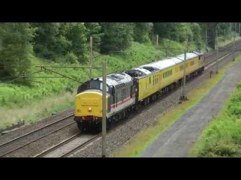 37254,tnt 37175,nb Derby RTC Carlisle Wapping sidings network rail test train Charnock Richard 5,6,7