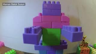 cara membuat robot dari balok susun seperti lego