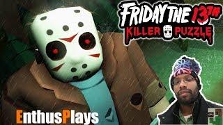 Friday the 13th: Killer Puzzle (Switch) - EnthusPlays #Fridaythe13thKillerPuzzle