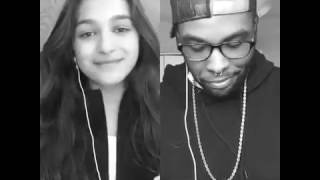 Noah Cyrus - Make Me (Cry) ft. Labrinth - Smule Cover - Julie Bella & Diego Montana (xYego)
