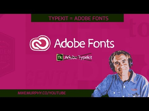 Adobe Fonts For Adobe Creative Cloud