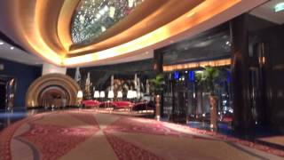 Lobby Burj al Arab. Dubai. A fairy tale hotel.