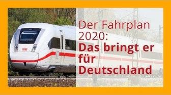 Der neue Fahrplan 2020: Welche Änderungen gibt es in Deutschland?
