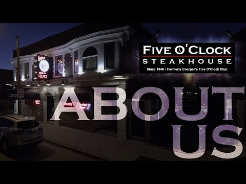 About Five O'Clock Steakhouse, a Wisconsin icon