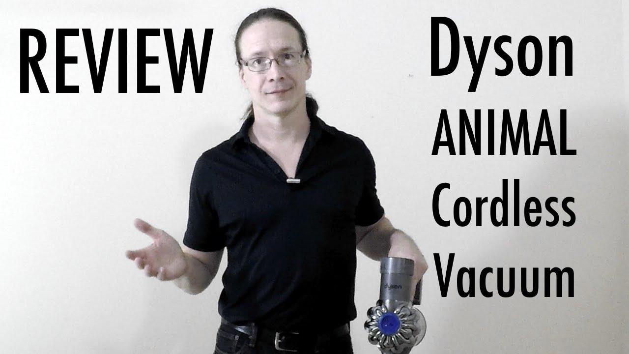 Handheld Vacuum Youtube Review Dyson V6 Animal Cordless Vacuum Youtube