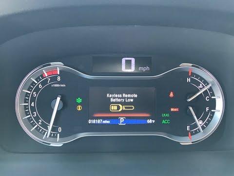 2016-2018 Honda Pilot Smart Key Fob Battery Replacement