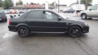 2003 Mazda Protege, Black - STOCK# 11205