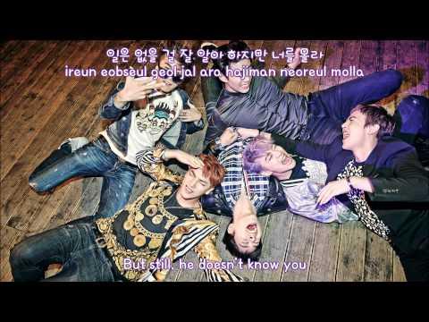 [Han/Rom/Eng] 2PM - I'm Your Man (Korean Ver) Lyrics