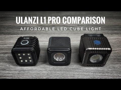 Ulanzi L1 Pro LED Light Review   LumeCube And Litra Torch Comparison