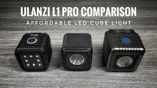 Ulanzi L1 Pro LED Light Review | LumeCube and Litra Torch Comparison