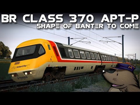 TS2018 | BR Class 370 APT-P | The Shape of Banter to Come | WCML Over Shap