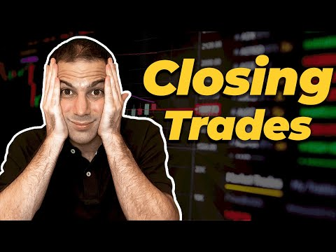 Options Trading Profit Strategies: CLOSING OUT Trades. TastyTrade & Option Alpha are WRONG