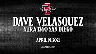 SDSU MEN'S HOOPS: DAVE VELASQUEZ - XTRA 1360 SAN DIEGO