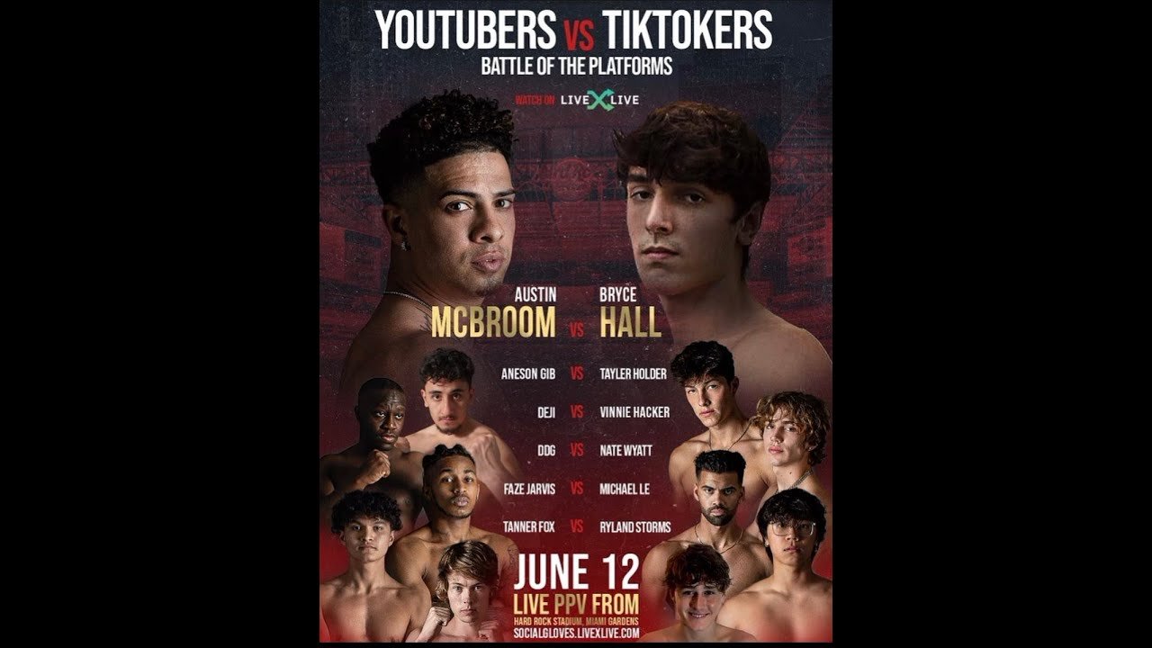 YouTube vs. TikTok live fight updates, results, highlights from Battle ...