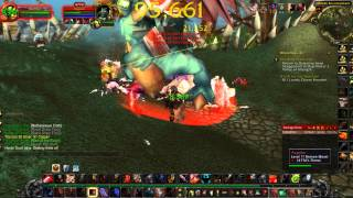 Azgalor the forth boss in mount hyjal as a fury warrior solo