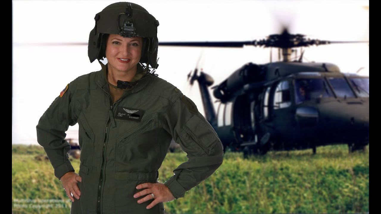 Black Hawk Helicopter Pilot Elizabeth McCormick Speaks of Real ...