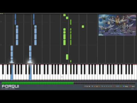 Fairy Tail Opening 8 - The Rock City Boy (Synthesia)