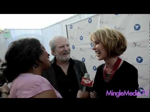 Susan Blakely, Steve Jaffe at the 17th Annual Angel Awards Red Carpet @susan_blakely @TheSteveJaffe