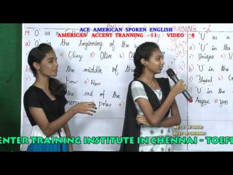 BEST AMERICAN ACCENT TRAINING INSTITUTE IN CHENNAI  - ACCENT TRAINING 8  PH:9840674165