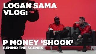 Logan Sama Vlog: P Money 'Shook' video shoot BTS