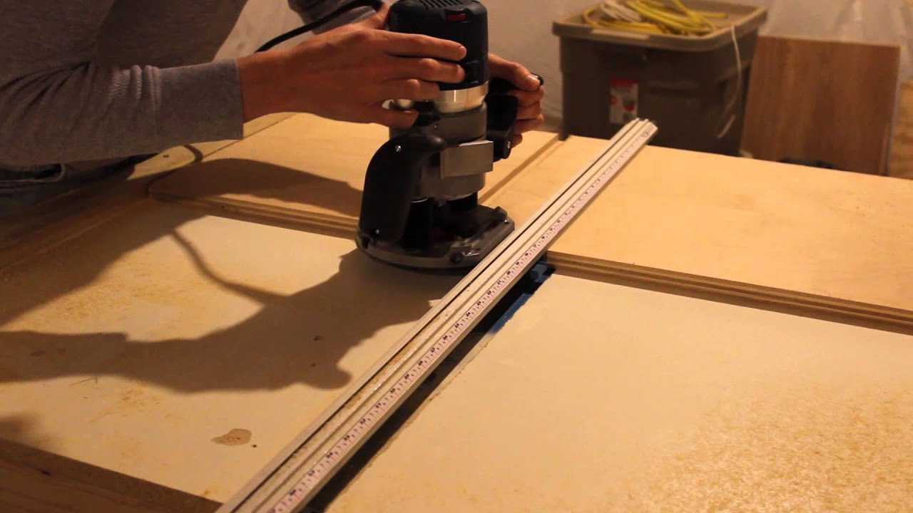 How to cut grooves and dados youtube for How to slice wood