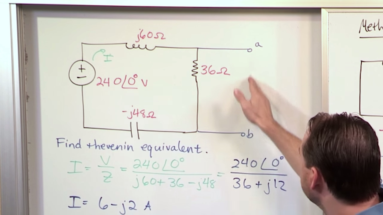 Ac Thevenin Equivalent Circuit Problem Youtube How To Solve A Series 3 Steps With Pictures