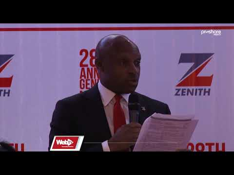 Highlights Of 28th Zenith Bank AGM