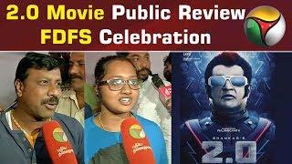 2.0 Movie Public Review | FDFS Celebration | The Robot 2.O
