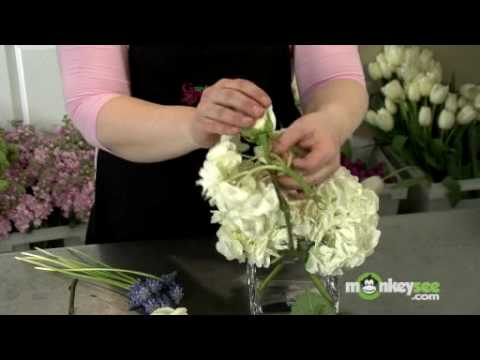 Quot Hydranging Quot A Wedding Centerpiece Youtube