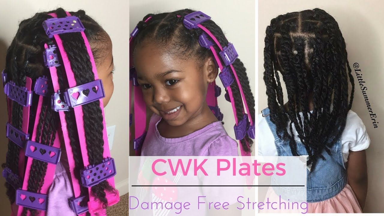 Stretching My Daughter S Hair With Cwk Straight Plates