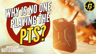 Why is No One Playing The PTS? | PUBG Xbox/PS4