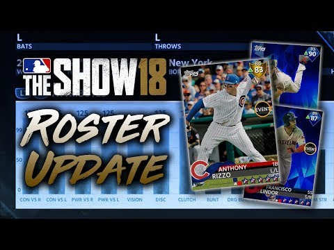 Rizzo Downgraded to Gold! July 13th Roster Update! MLB The Show 18 Diamond Dynasty