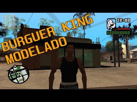 MTA:SA - Map Burger King
