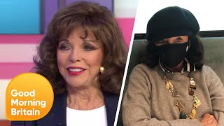 Dame Joan Collins On Coronavirus And Tensions Between Prince Harry & William   Good Morning Britain