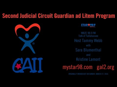 "Guardian ad Litem on ""Talk of Tallahassee"" WBZE-FM 2016-03-27"