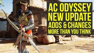Assassin's Creed Odyssey Update Adds & Changes More Things THAN EXPECTED (AC Odyssey Update 1.03)