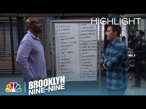 Jake & Terry Cross Off Tasks On The Wedding List  Season 5 Ep. 21  BROOKLYN NINENINE