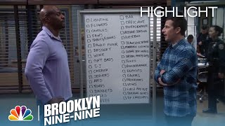 Brooklyn Nine-Nine - Jake and Terry Cross off Tasks on the Wedding List (Episode Highlight)