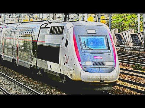 Grosse compilation - Trains SNCF / TGV, Thalys, Eurostar, OUIGO, TER, Intercités, RER et FRET