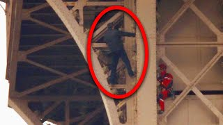 Can You Believe This Man Scaled the Eiffel Tower?