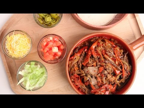 Crock Pot Beef Fajitas Recipe