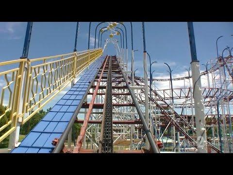 Galaxi Coaster POV - Joyland Amusement Park - Lubbock, Texas, USA