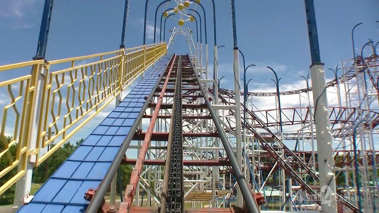 Galaxi Coaster Pov Joyland Amusement Park Lubbock Texas Usa
