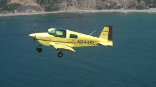 formation flight with Grumman AA1(Air to air photo shooting)