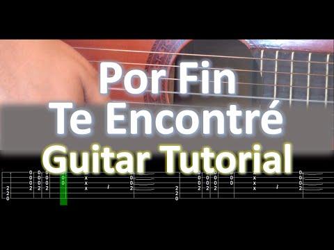 Por Fin Te Encontré ACORDES Guitarra Tutorial - Cali Dande Yatra
