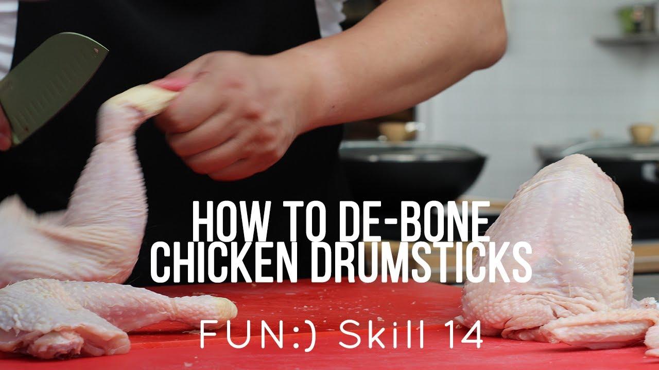 FUN:) Skill 014: De-boning Chicken (Drumstick)